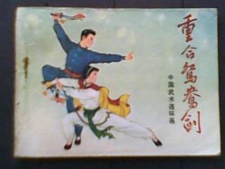 重合鸳鸯剑【中国武术连环画】