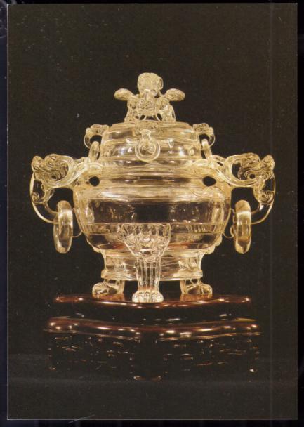 水晶炉(中国玉雕)