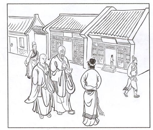 关羽卡通简笔画最简单-关羽的简笔画画法|儿童关羽简