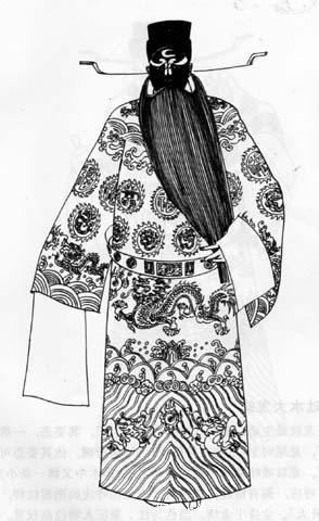 重温老版 京剧人物线描  通天教主  光禄勋 加入时间: 2005/03/13