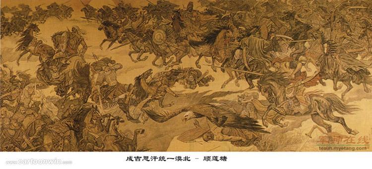 中国古代战争画作_东方军团吧