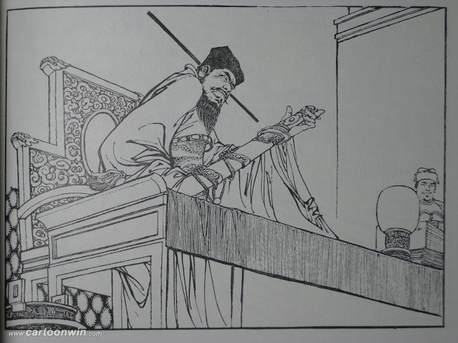 古典戏剧人物手绘