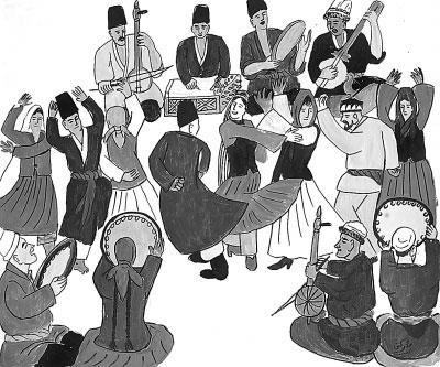 卡通之窗_业内新闻_新疆农民连环画:画出民生与民情